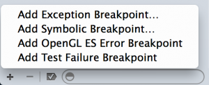ExceptionBreakpoint